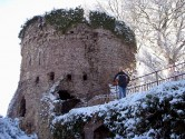 Usk Castle and Rick
