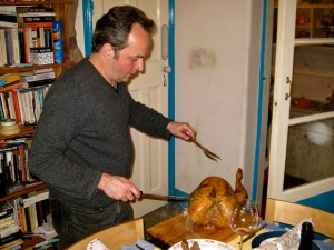 Jack Carves the Christmas Turkey