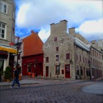 Old Montreal Cobblestone Streets