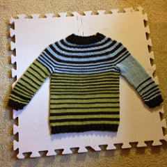 Striped Child's Sweater