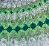 Asymptote sweater - greens