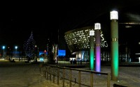 Wales Millennium Centre at Night