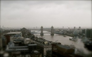 Thames and Tower Bridge from Monument