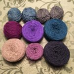Letfover yarn used for the sweater