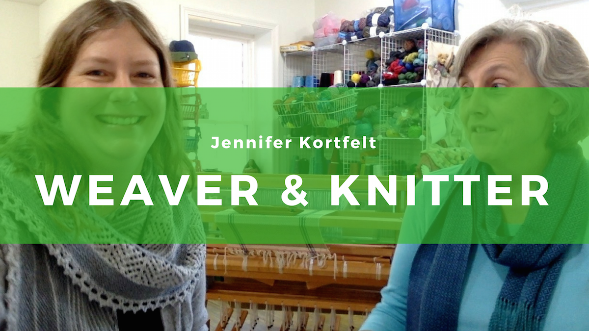 1: Jennifer Kortfelt: Weaving with color