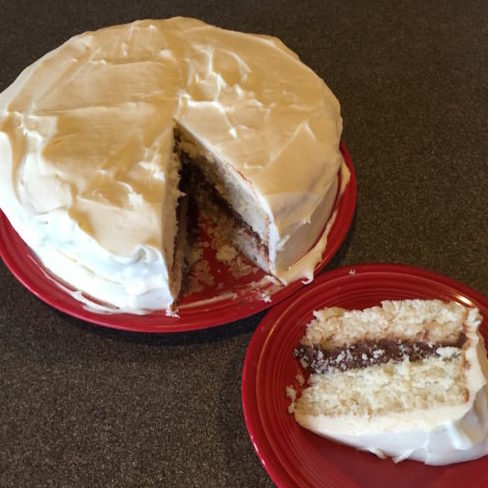 Vanilla Wedding Cake with Mocha Filling: Recreating a favorite from memory