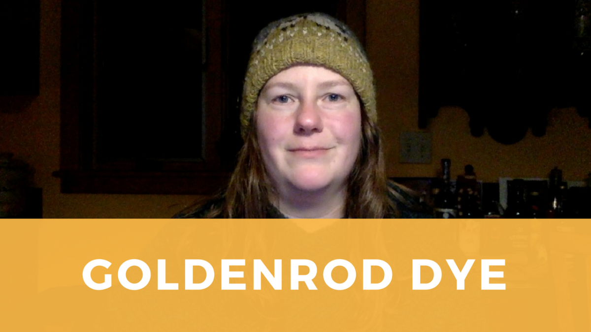 Dye with Goldenrod for Vivid Yellow