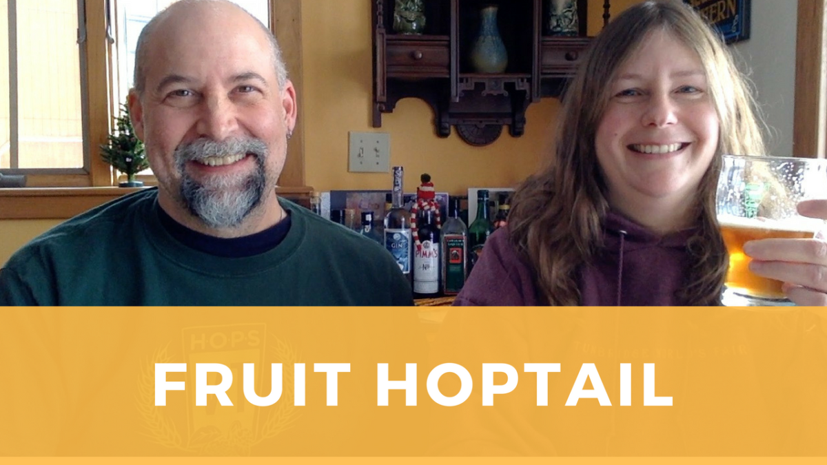 "Homebrew Video Tasting ""Fruit Hoptail"" Pale Ale"