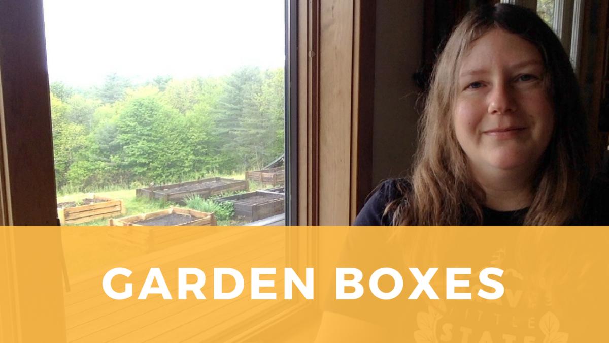 Build your own garden boxes