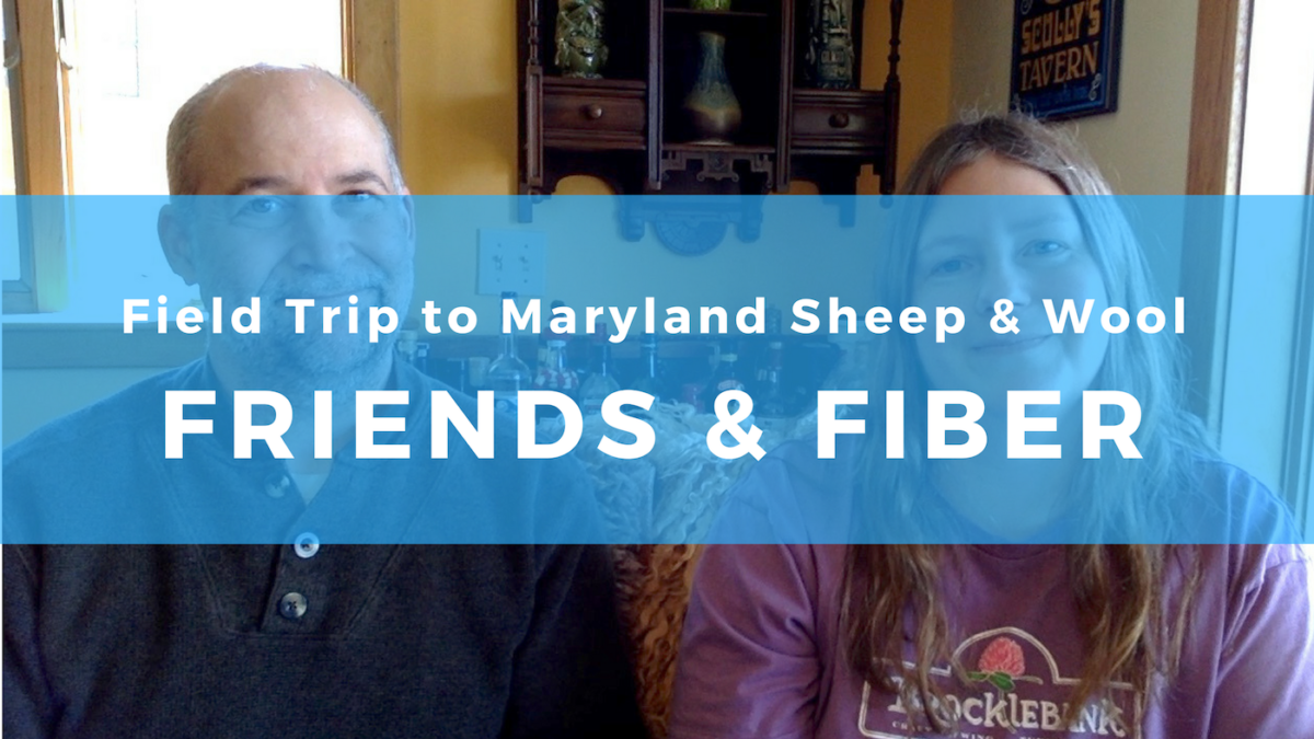 Maryland Sheep and Wool Festival: Fiber and friends