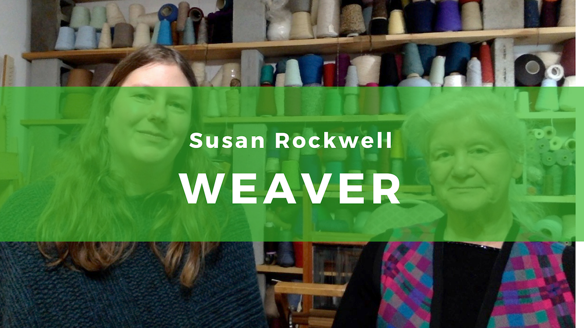 18: Susan Rockwell, Master of Double Weaving
