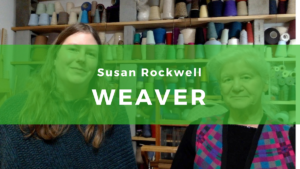 Susan Rockwell, master weaver
