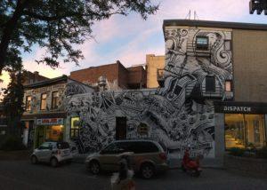 Kraken Mural