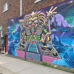 DJ Mural