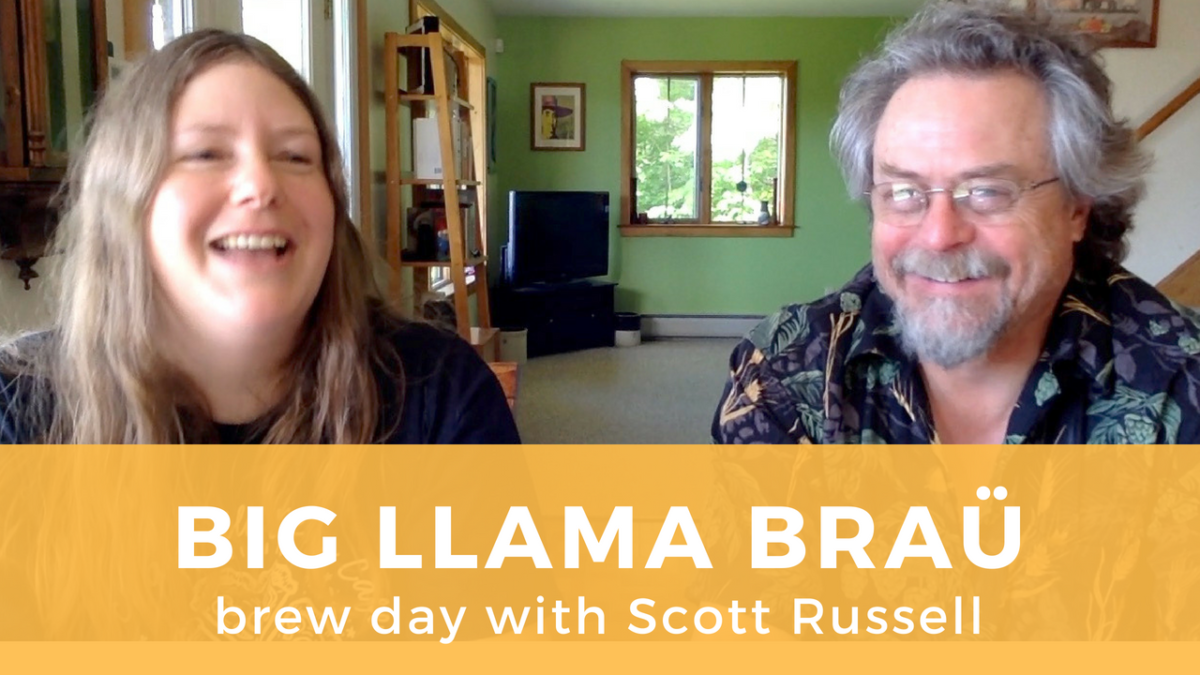 Brewing Big Llama Braü with Scott Russell