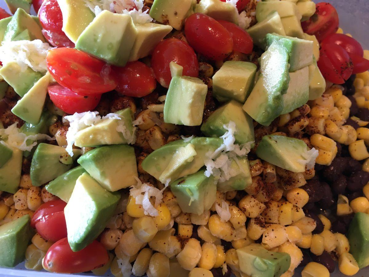 Black bean salad: a southwest staple for potluck perfection