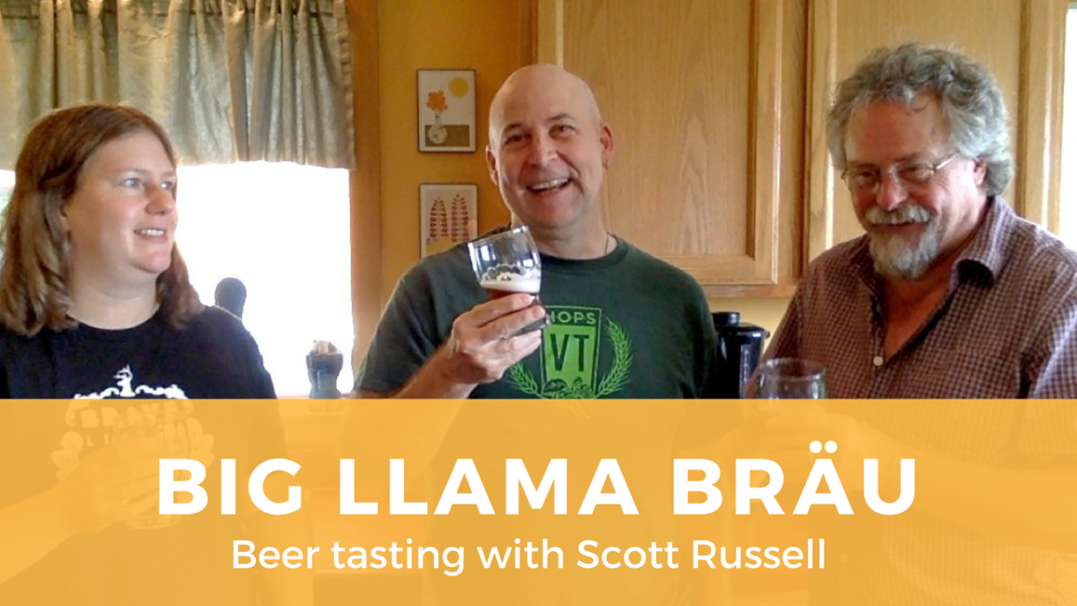 Tasting Big Llama Bräu with Scott Russell