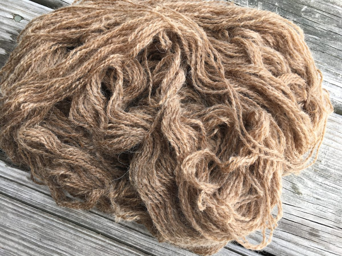 How to Dye Wool with Butternut Hulls