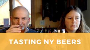 Tasting NY Beers