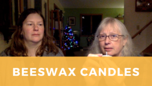 Make beeswax candles