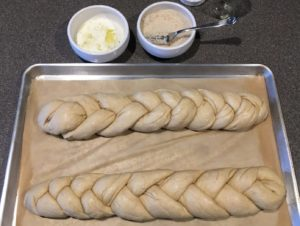 Bread - braided