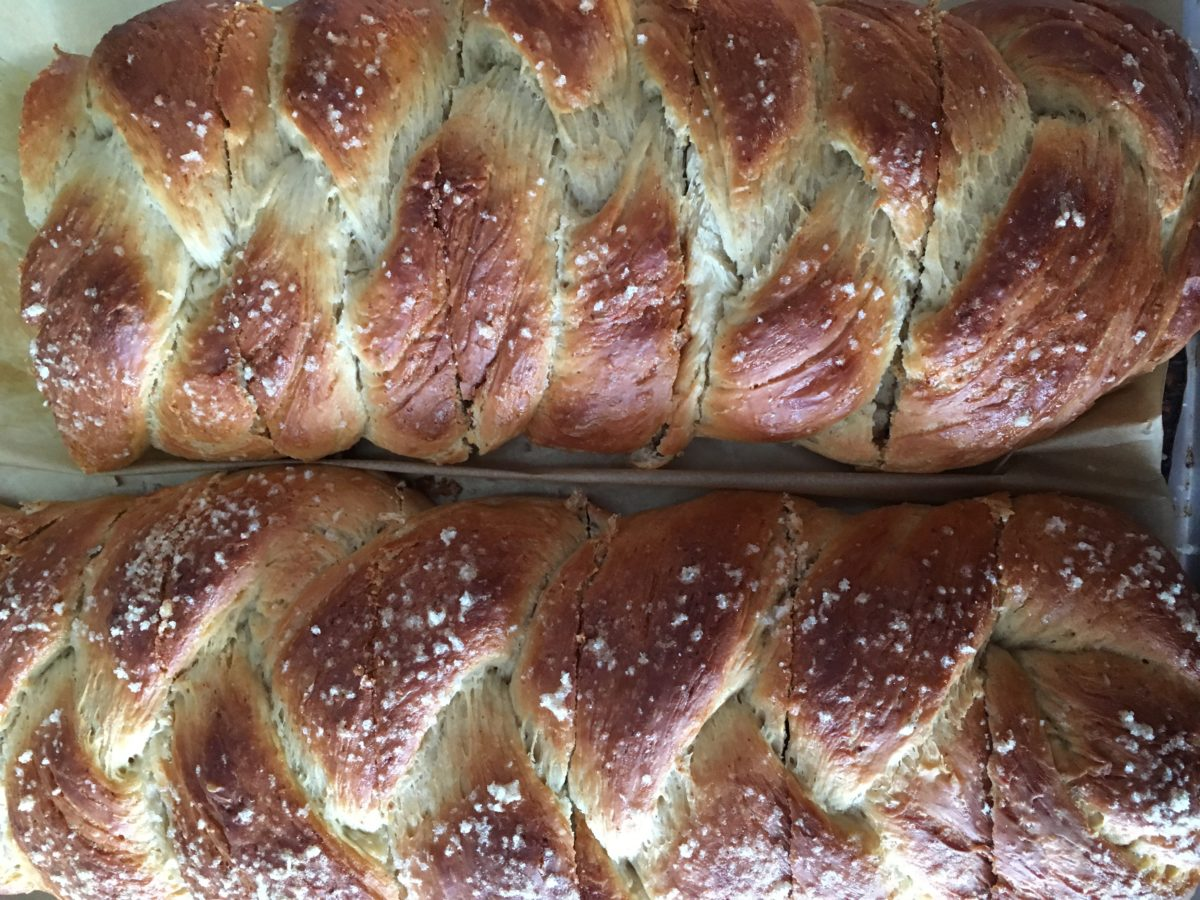Swedish Cardamom Bread is a delicious holiday treat that makes a great gift.