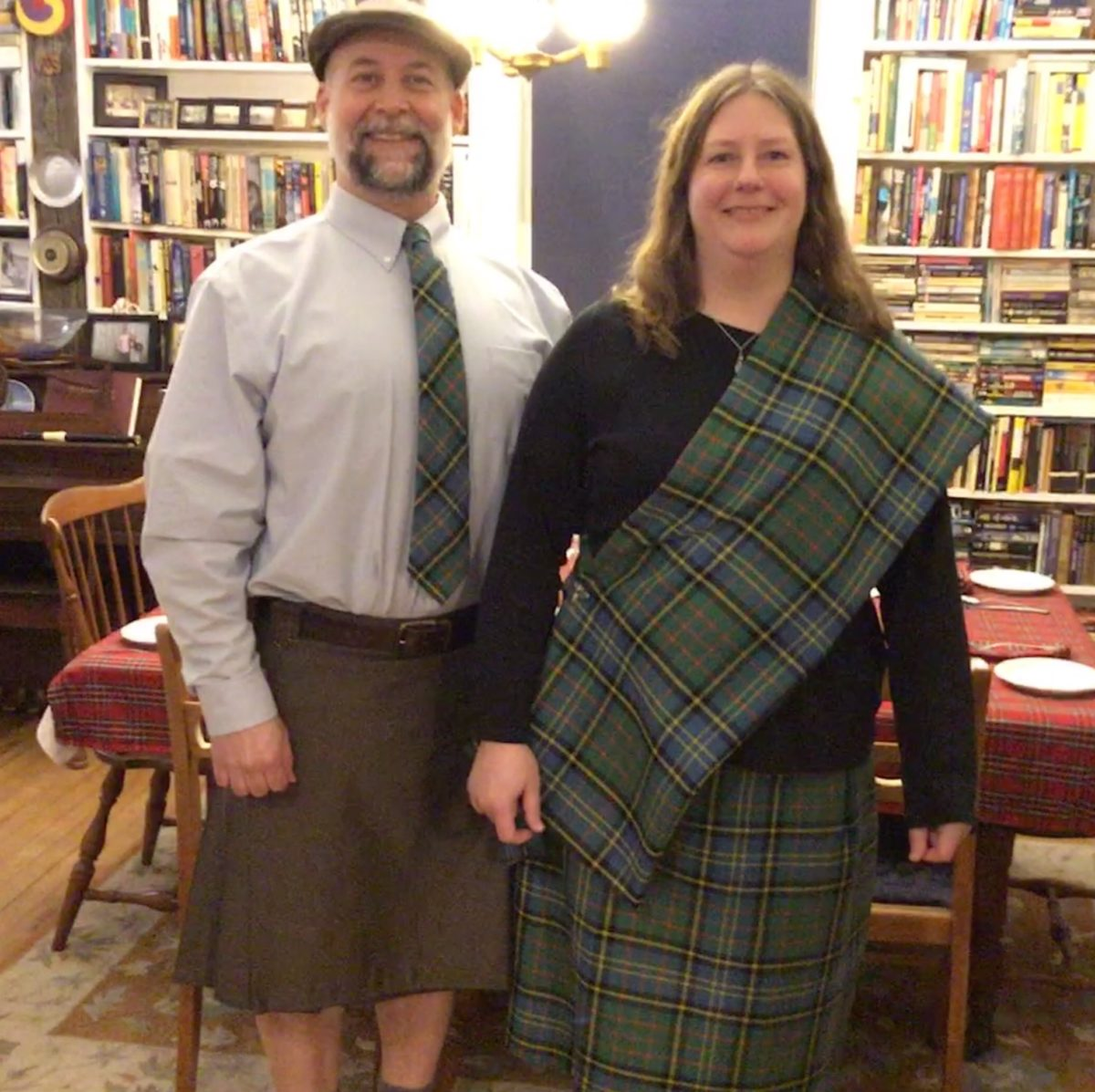Sewing a Skirt & Sash – A Project for a Special Night