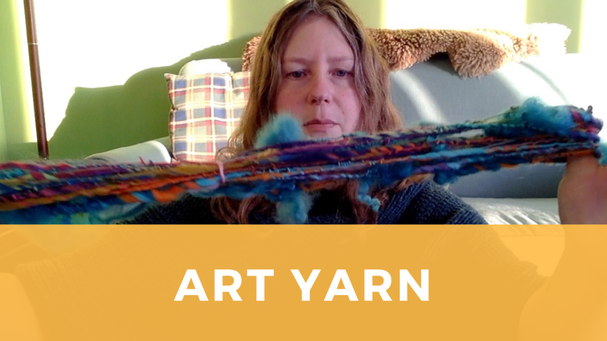 Art Yarn Spinning – First Time with Multiple Techniques