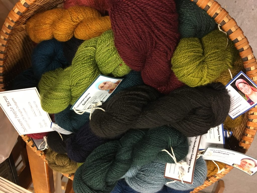 Basket of Cashmere People Yarns