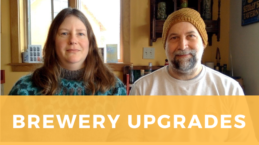Rick and Sarah discuss changes to the brewery