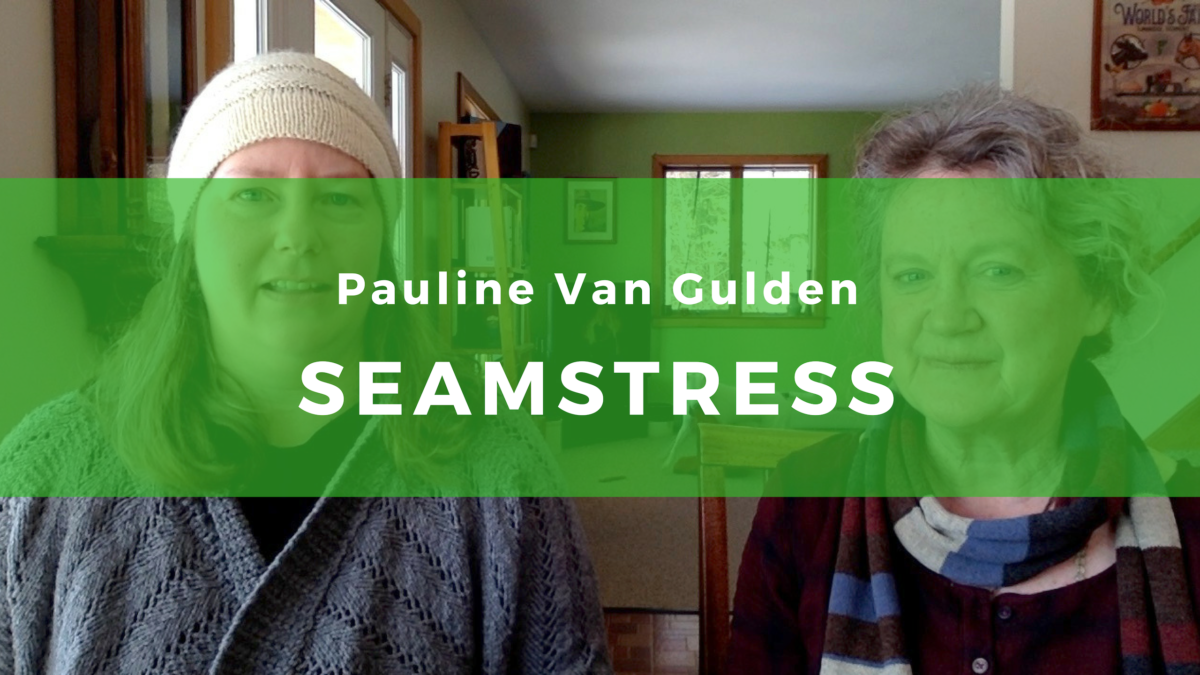 26 Pauline Van Gulden: Collaboration is an essential part of sewing creativity