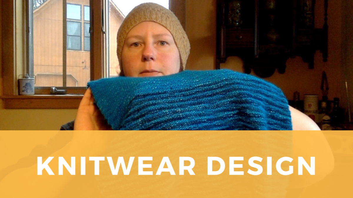 Knitwear Design: why, and how, I develop my own patterns