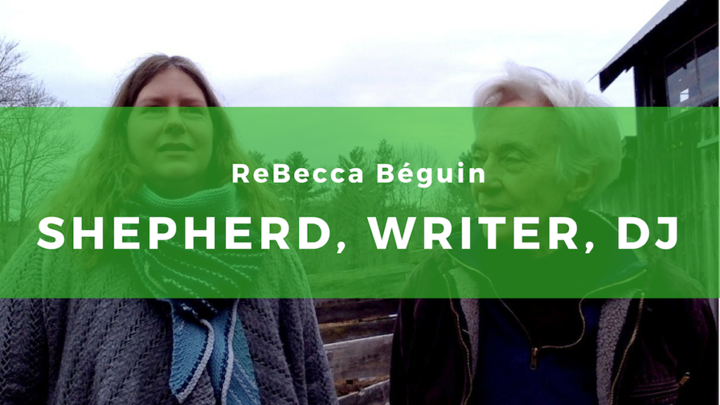 Sarah and Rebecca discuss farming and other creative topics