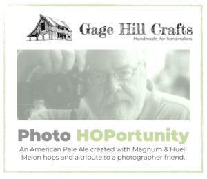Label for Photo HOPortunity beer.