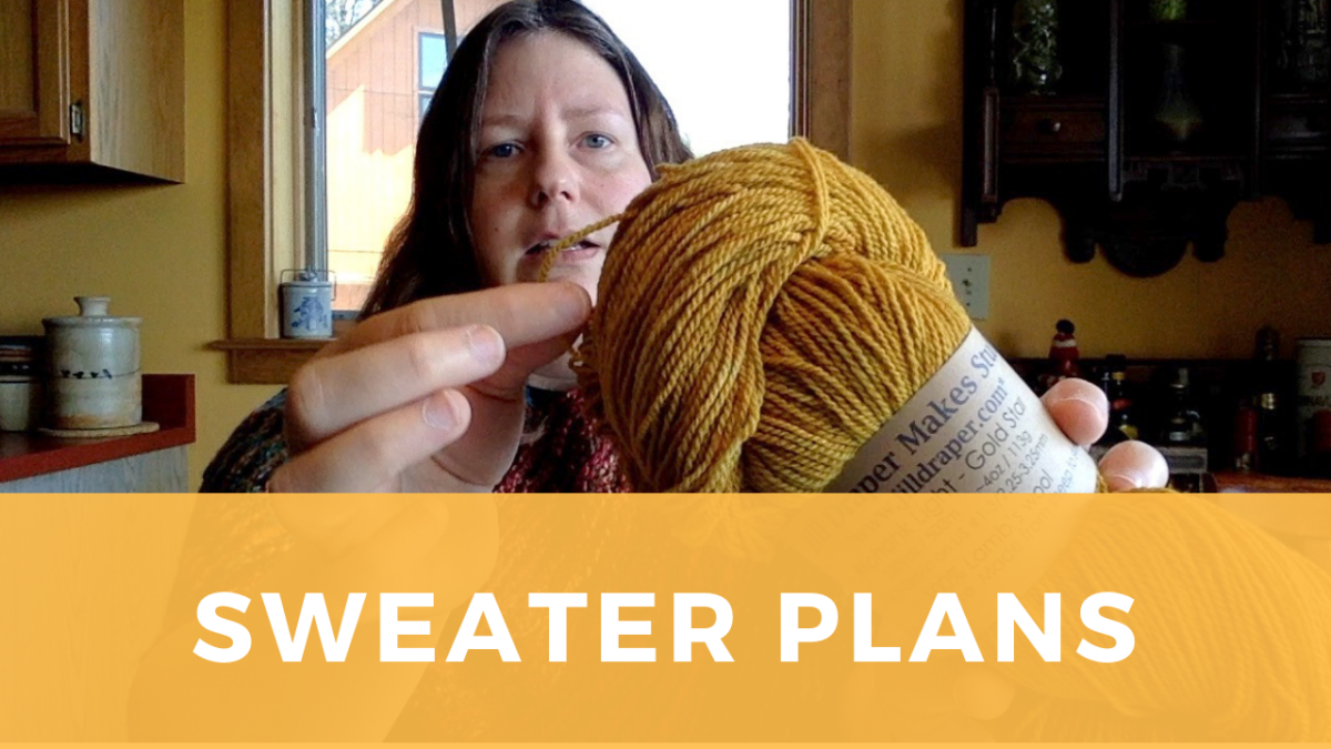 "Sweater plans: Yarn choice and techniques for knitting ""Wool & Honey"""