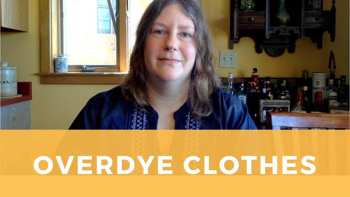 How to overdye a piece of clothing: tips for success