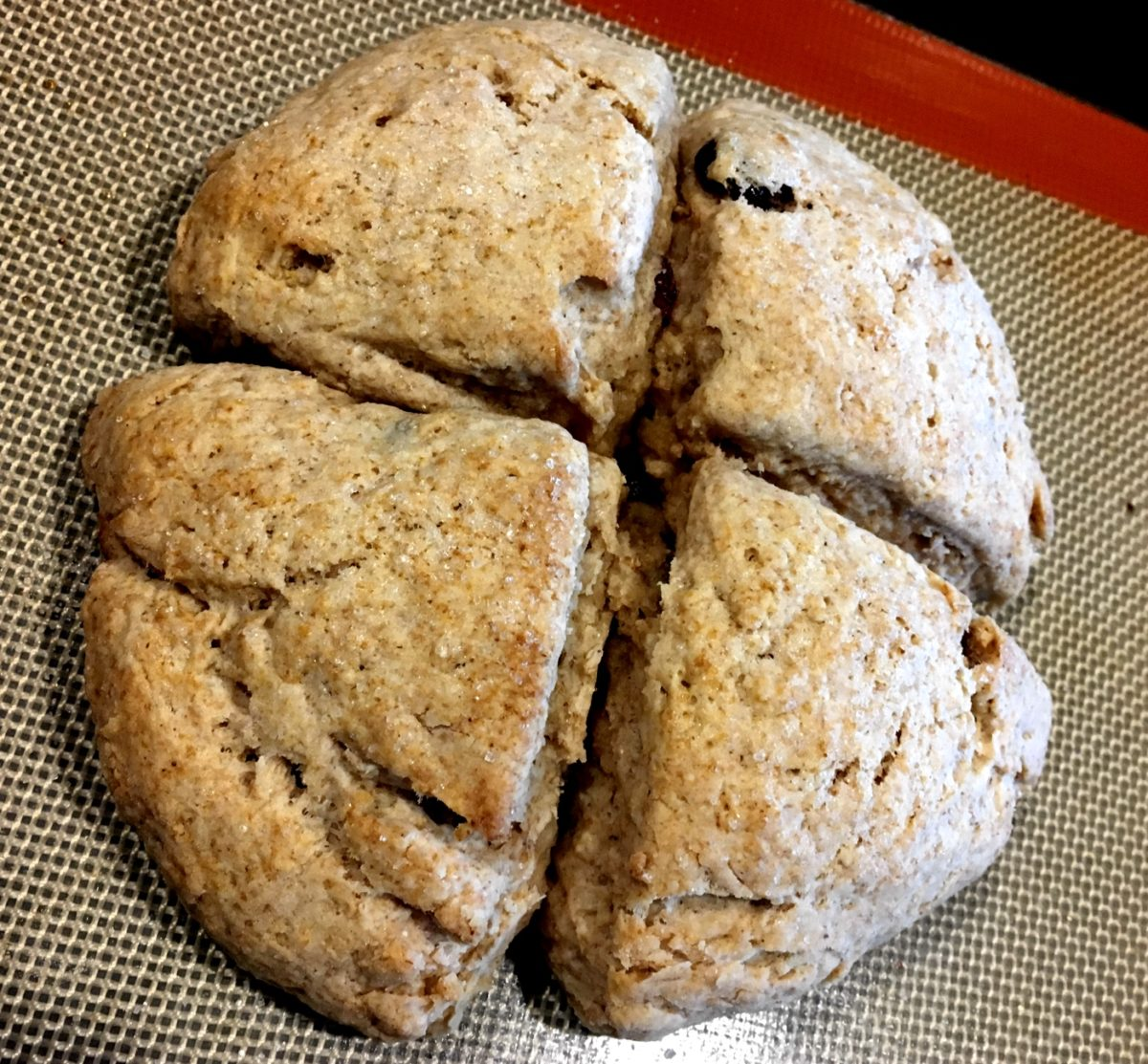 Cream Scones: A quick savory or sweet treat