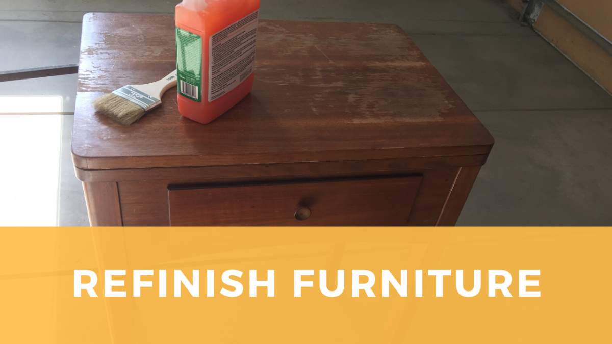 Refinishing a Sewing Machine Cabinet: Observations and tips from a first-time furniture restorer