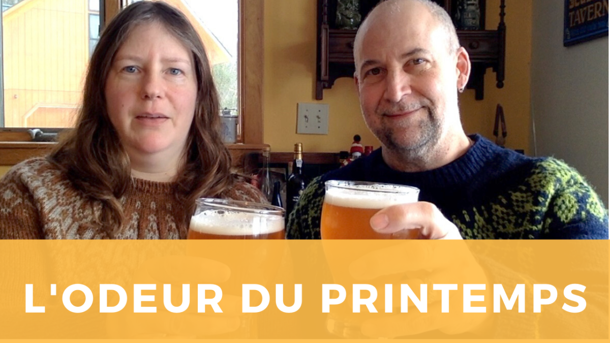 L'odeur du Printemps: The Smell of Spring in a fruity French Saison style